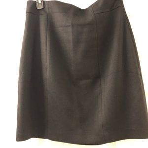 Black Tahari skirt